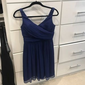 j crew navy blue dress